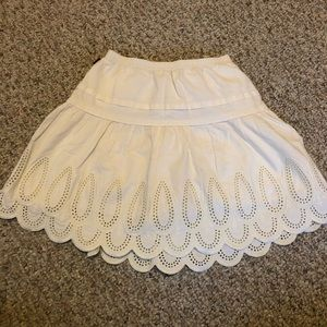 Tea Collection Scallop Bottomed Skirt